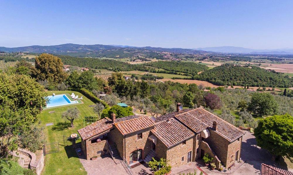 Luxury Farmhouse Monte San Savino Arezzo Tuscany Italy