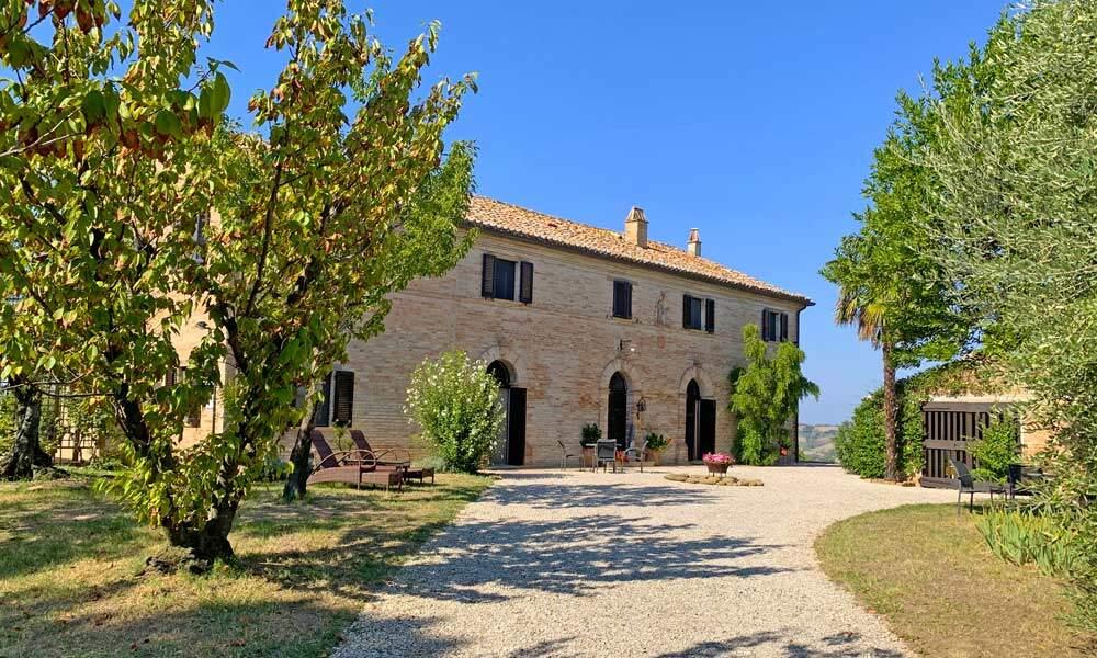 Monastery Orciano Pesaro Marche Italy Luxury