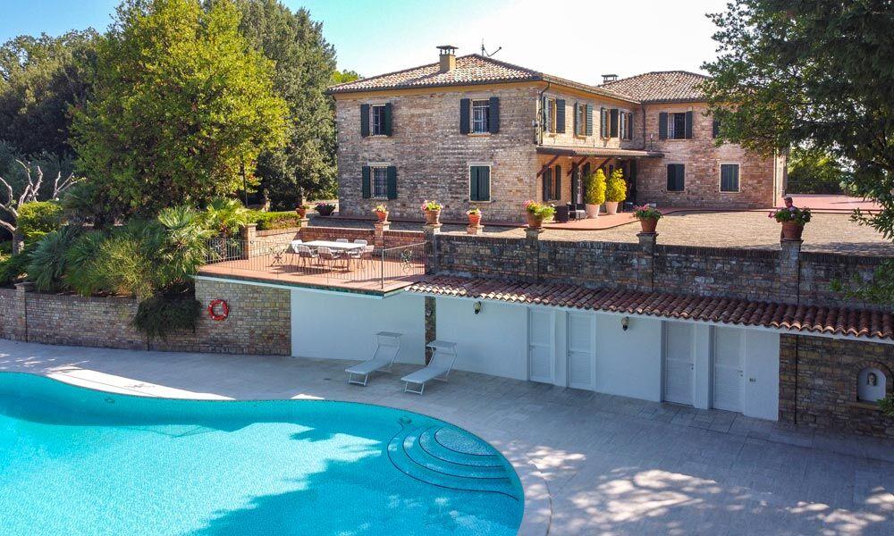 Villa Pesaro Marche Italy Luxury